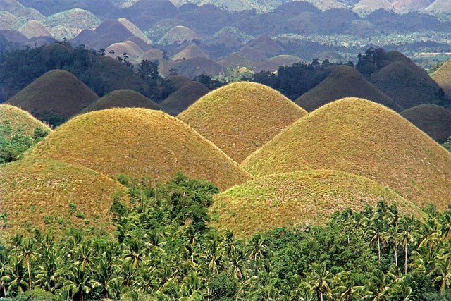 how to get to chocolate hills from cebu city