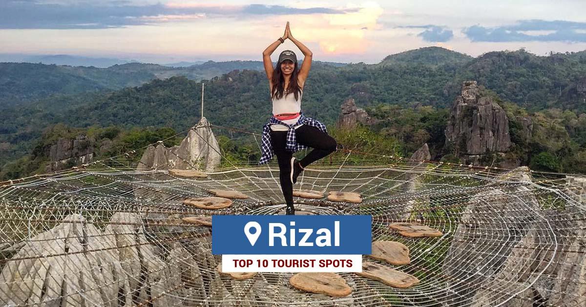 Top 10 Tourist Spots In Rizal Tourist Spots Finder